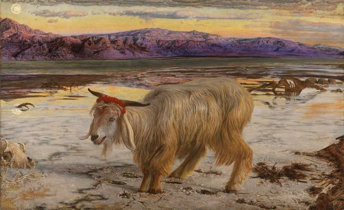 The Scapegoat Painting, William Holman Hunt, Having Decided To Stay, Bryana Johnson