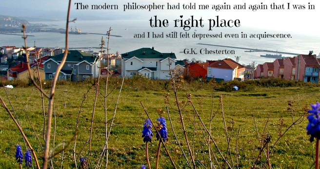 Chesterton on The Wrong Place 1