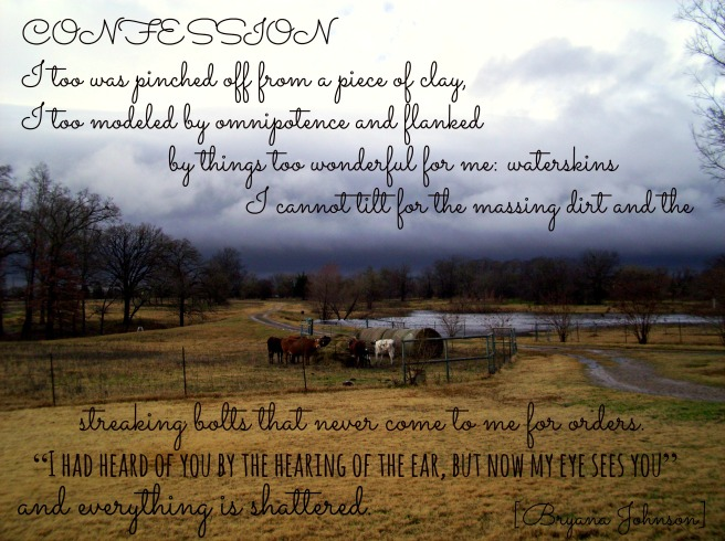 HDTS Confession Poem